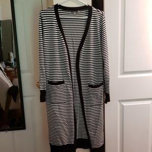 Sweaters - Striped cardigan